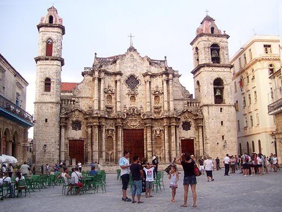 Catedral de La Habana, Patrimonio de la Humanidad. Foto tomada de taringa