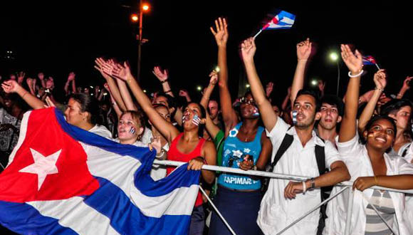 CUBA-LA HABANA-CONCIERTO DE BUENA FE