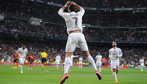 Cristiano Ronaldo hizo dos goles