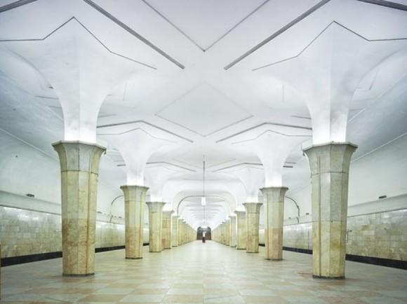 El Metro de Moscú Foto David Burdeny14
