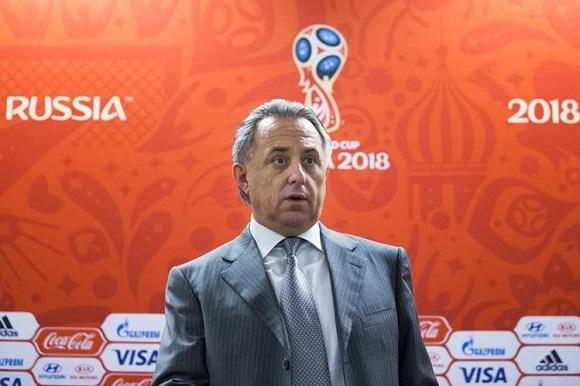El Ministro de Deportes de Rusia, Vitaly Mutko, declaró que reforzarán la seguridad para el Mundial de 2018. Foto: AP.
