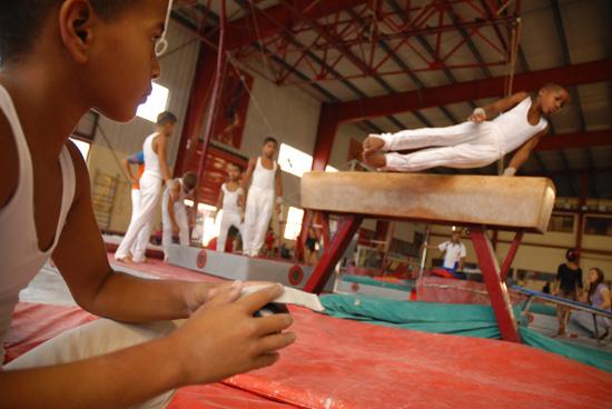 Escuela Nacional de Gimnasia de Cuba. Foto: Juventud Rebelde