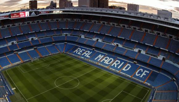 Estadio Santiago Bernabeu. Foto tomada del sitio oficial del Real Madrid