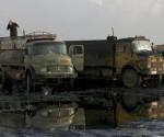 Camiones cisternas pertenecientes al Estado Islámico. Foto: Reuters.