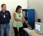 El laboratorio de psicología del deporte cuenta con varios equipos para el tratamiento de atletas. Foto: José Raúl Concepción/Cubadebate.