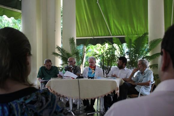 """""""Cuba y sus vecinos. Democracia en movimiento"""", fue presentado en el ICAP. Foto: José Raúl Concepción/Cubadebate."""