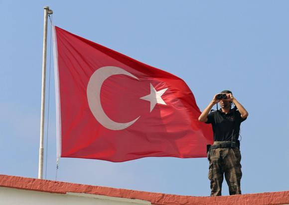 Soldado turco. Foto: Agencias.