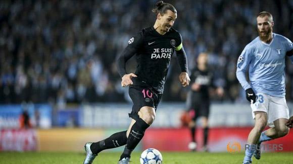Ibrahimovic regresó al que fuera su primer club como profesional, el Malmö FF. Foto: Reuters.