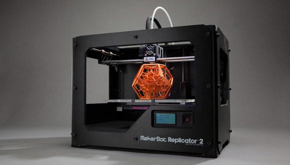 Impresora 3D. Foto tomada de 20 Minutos.