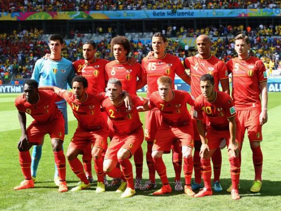 Jugadores de la selcción belga. Foto tomada de revistagq