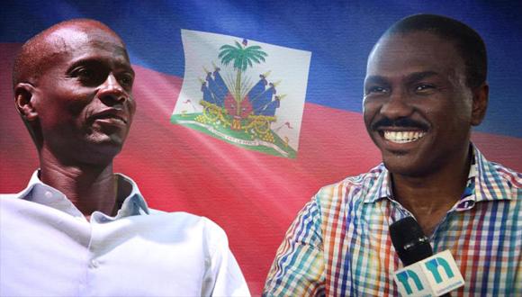 Juvenel Moise y Jude Celestin candidatos presidenciales Haiti