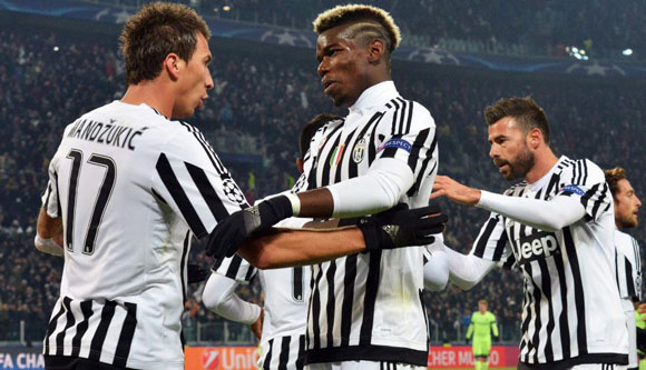 Juventus venció 1-0 al Manchester City y selló su pase a octavos de final de la Champions League. Foto: EFE.
