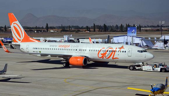 Línea aérea brasileña Gol: Foto tomada de sclnews.com