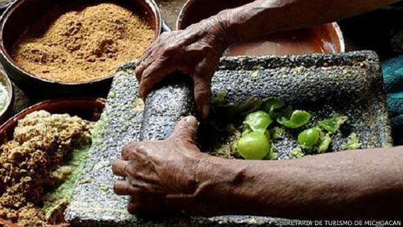 La Unesco resalta los sistemas de producción mesoamericanos de la comida mexicana. Foto: Secretaría de Turismo de Michoacán.