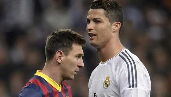 Lionel Messi y Cristiano Ronaldo. Foto tomada de Sport