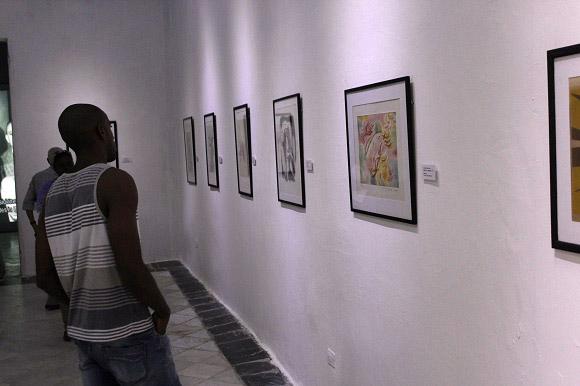 """La exposición """"Masson-Lam, diálogos imaginarios"""" estuvo durante un mes en el Centro Wifredo Lam. Foto: José Raúl Concepción/Cubadebate."""