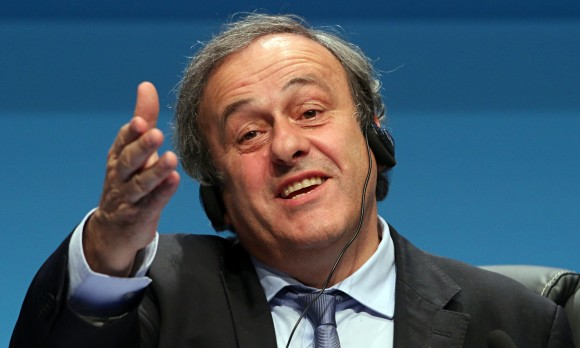 Michel Platini. Foto tomada de The Guardian