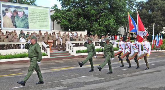 Momentos de la ceremonia militar-JoseMCorrea