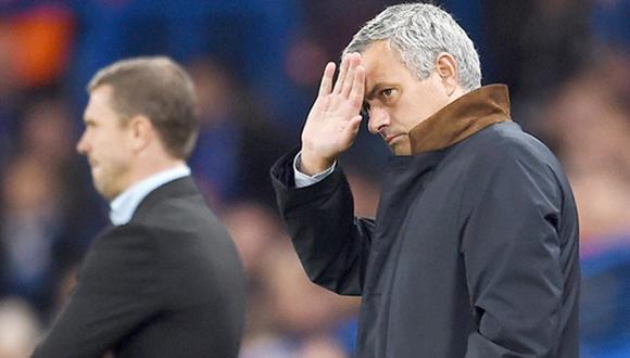 Mourinho ha dirigido el peor arranque del Chelsea en Inglaterra. Foto: Tomada de www.sport.es