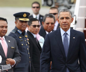 Barack Obama llega a Malasia. (Foto: Reuters)