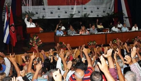 CUBA- DESARROLLAN ASAMBLEA DE BALANCE DEL PARTIDO EN SANCTI SPÍRITUS