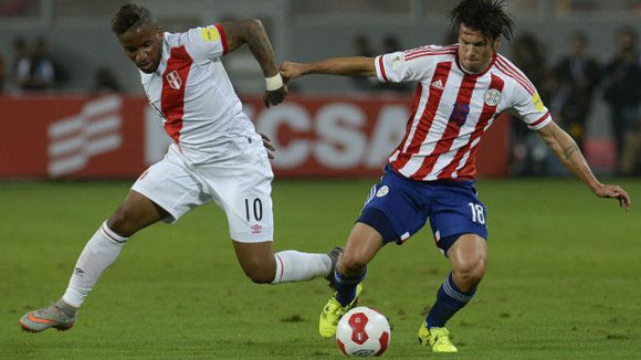 Paraguay vs Perú. Foto: Getty Images