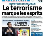 'El terrorismo marca los espíritus' publicó Le Parisien.