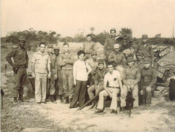 Quifangondo, Angola-1976. Foto: Archivo de la Autora.