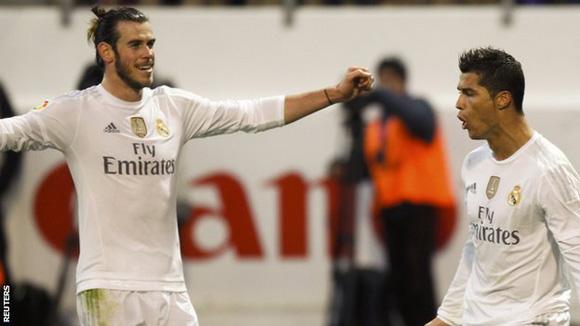 Bale y Ronaldo fueron los autores de los tantos. Foto:  Reuters.
