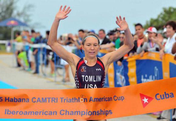 La estadounidense, Renee Tomlin, fue una de las campeonas en enero de este año. Foto: Ricardo López Hevia.