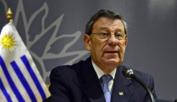 Canciller uruguayo realizará visita oficial a Cuba