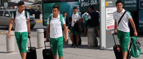 Santos Laguna sale de México rumbo a La Habana. Foto tomada de la página oficial del club azteca