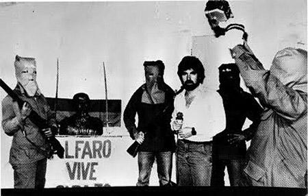Tres miembros de la guerrilla Alfaro Vive Carajo fueron violados y torturados en cautiverio. Foto tomada de Página 12.