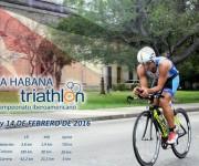 El Campeonato Iberoamericano de Triatlón de La Habana se celbrará los días 13 y 14 de febrero de 2016.