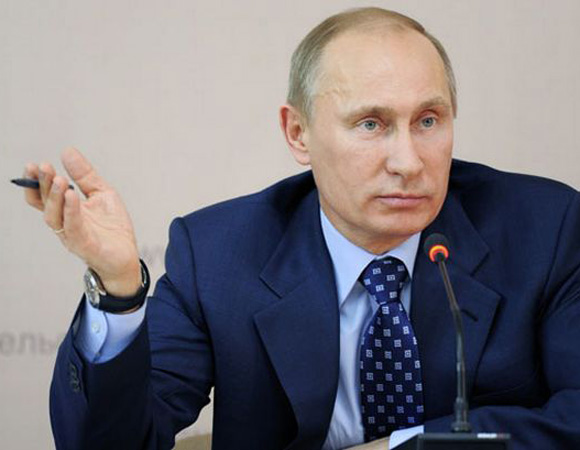 Vladimir Putin denunció que EE.UU. viola el acuerdo antimisiles de Polonia Foto: Notimex.
