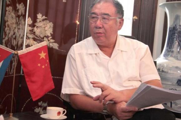 El embajador de China en Cuba, Zhang Tuo. foto tomada de uh.cu