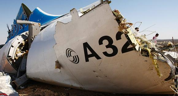 Catástrofe del Airbus 321. Foto: Mohamed abd El Ghany/Reuters.