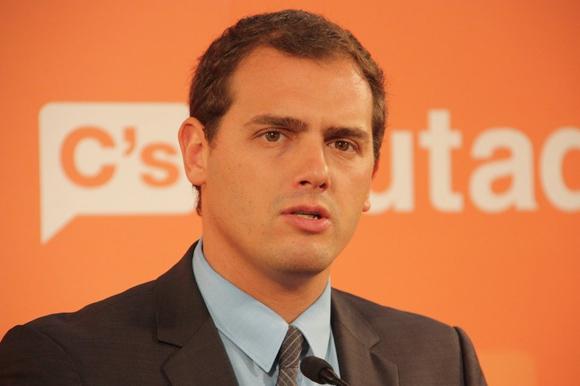Albert Rivera, líder de ciudadanos. Foto: La Voz Libre.
