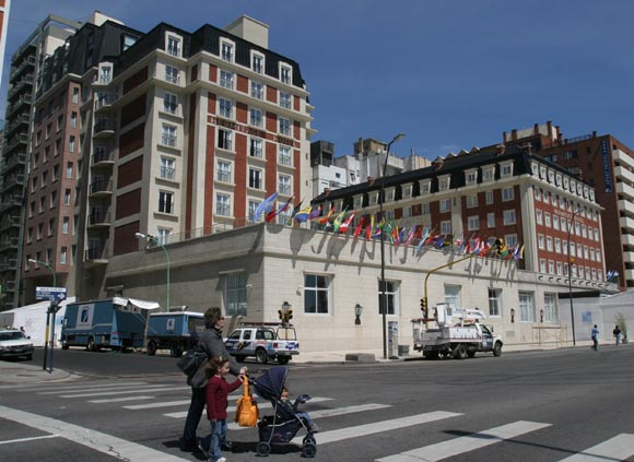 Hotel donde se desarroLlo la Cumbre de las Americas Mar del Plata Argentina. Foto: Ismael Francisco/Cubadebate.