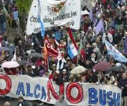Cumbre de los Pueblos Mar del Plata Argentina Nov 2005. Foto: Ismael Francisco/Cubadebate