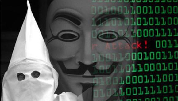 Anonymous difundirá la identidad de varios integrantes del Ku Klux Klan.