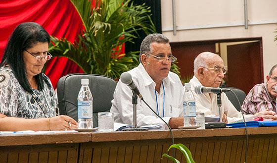 Presidieron la asamblea José Ramón Machado Ventura y Miguel Díaz-Canel Bermúdez.