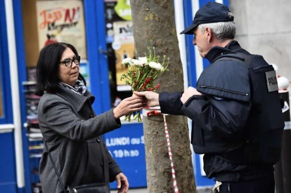 Atentado en París. Fuente:  AP