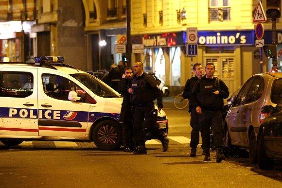 Atentados sacuden capital francesa. Foto: EFE.