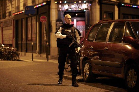 París bajo ataque. Foto: EFE.
