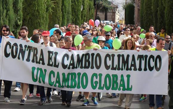 Marcha en Paraguay. Foto tomada de Hoy Corrientes.