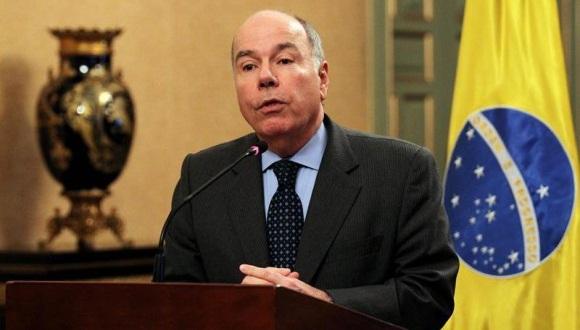 El canciller de Brasil, Mauro Vieira.