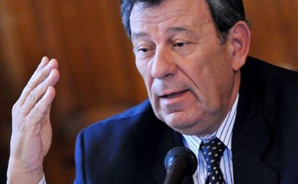 Canciller uruguayo, Rodolfo Nin Novoa.