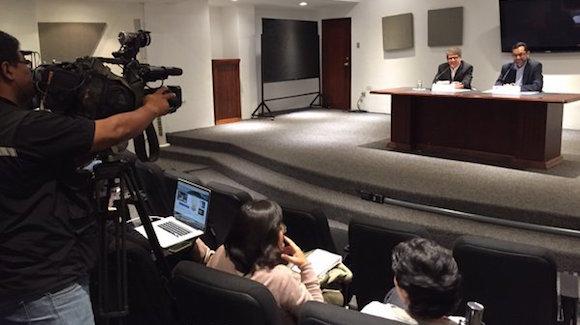Lasso explicó que en el encuentro en San Salvador se llegaron a acuerdos para precautelar la integridad de los ciudadanos cubanos, debido a los riesgos que corren en manos de los traficantes. Foto: Cancillería de Ecuador/ Twitter
