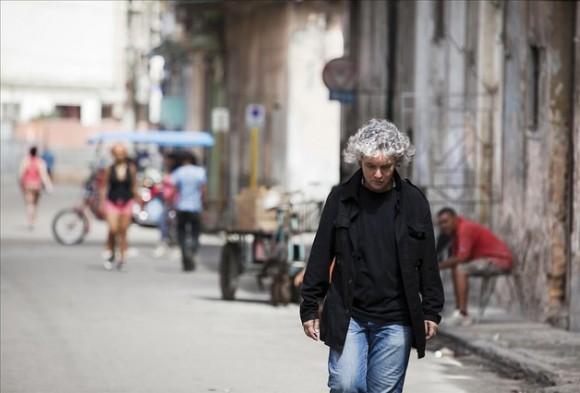 La cantante barcelonesa recorrió las calles de La Habana, entre concierto y concierto. Foto: Isabel Camps